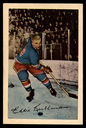 9db760fe5 Amazon.com  Hockey NHL 1952-53 Parkhurst  18 Ed Kullman VG Very Good ...