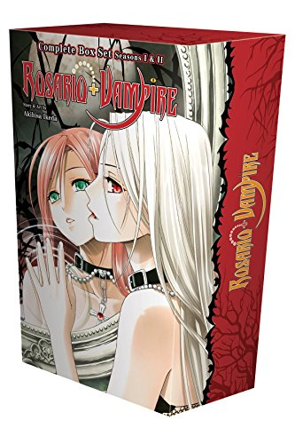 Rosario + Vampire Complete Box Set: Volumes 1-10 and Season II Volumes 1-14 with Premium