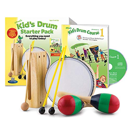 Alfred Alfred's Kid's Drum Course Starter Pack by Alfred