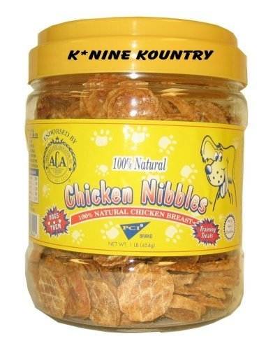 Case/12, 1# Canisters of Chicken Breast Nibbles by PCI