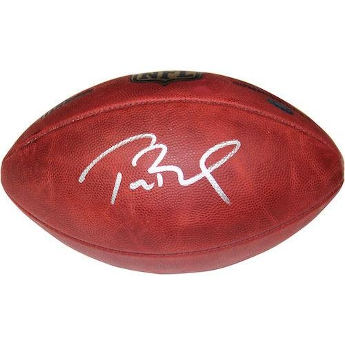 Tom Brady Signed Football - Authentic Offical Duke - Tristar Productions Certified - Autographed Footballs Sports Memorabilia