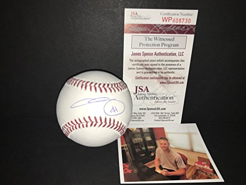 - Chris Sale Boston Red Sox Autographed Signed Official Major League Baseball JSA WITNESS COA