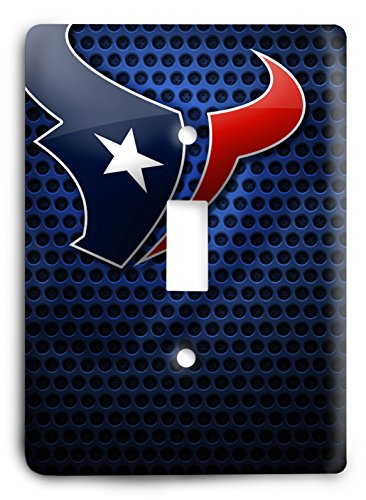 NFL Come Hard Texans Light Switch Cover