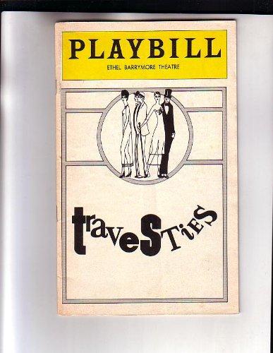 Tom Stoppard Travesties NYC Broadway Playbill 1975 (Travesties Tom Stoppard)