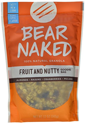 Bear Naked Granola Pouches, Fruit and Nutty, 12 Ounce (Pack of 6) (Bare Fruits compare prices)