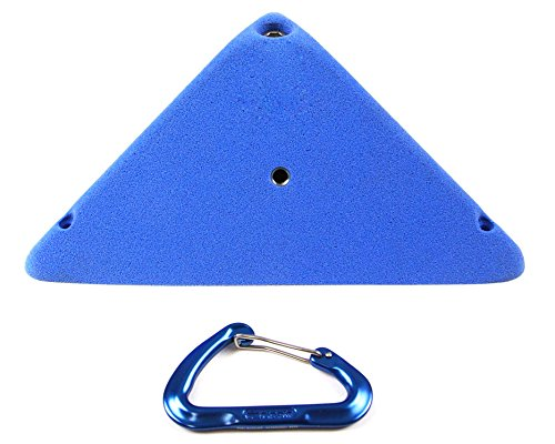 Volumes #7 (High Profile Large Surface Triangle) | Climbing Holds | Blue by Atomik Climbing Holds