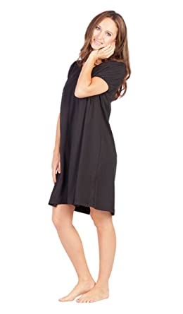 28de49cb07 Savi Mom Nursing Nightgown USA Made Cotton. Breastfeeding Pumping mom s  fav! Lounge Dress Delivery