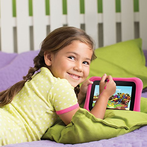 LeapFrog Epic Academy Edition 7'' Android 2.0 Based Kids Tablet 16GB with Carrying Case, Pink by LeapFrog (Image #4)