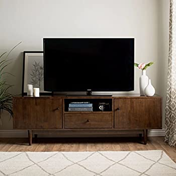 Mid Century Modern TV Stand Provides Retro Style And Contemporary  Functionality. 72 Inch