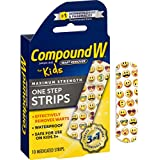 Compound W One Step Strips for Kids, 10 Count