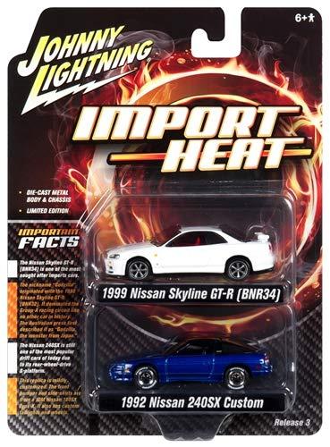 Import Heat Johnny Lightning JLSP041-24 1 64 Themed 2 Pack 2018 White