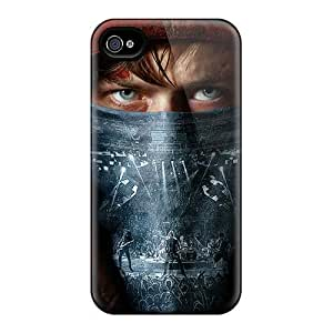 Anti-Scratch Cell-phone Hard Covers For Iphone 4/4s With Allow Personal Design High-definition Metallica Skin ChristopherWalsh