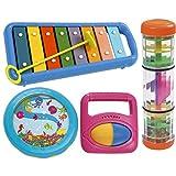 Halilit Little Hands Music Band Musical Instrument Gift Set