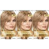 L'Oréal Paris Superior Preference Permanent Hair Color, 8 Medium Blonde, 3 pack