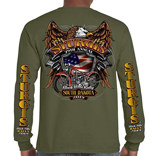 - 2019 Stugis Black Hills Rally Rebel Rider Long Sleeve Shirt