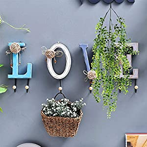 Hukidoy Artificial Plants Vines Fake Hanging Ivy Decor Plastic Greenery for Wall Indoor Outdoor Hanging Baskets Wedding Garland Decor (Pack of 2) 4