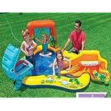 Intex Kids Dinosaur Spray Water with swimming pool