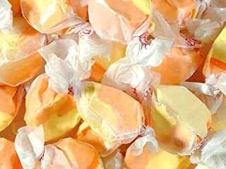 product image for Apricot Yellow & Orange Gourmet Salt Water Taffy 5 Pound Bag (Bulk)
