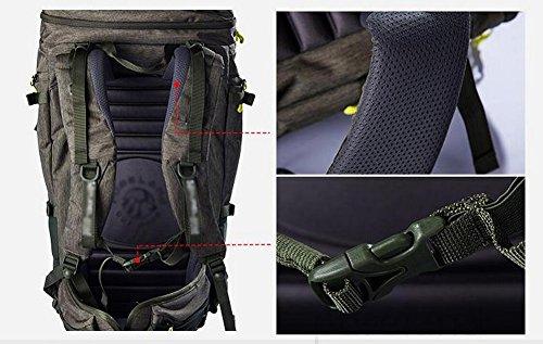 HWLXBB Outdoor Bergsteigen-Paket Männer und Frauen 50L Wasserdichte Mehrzweck-Bergsteigen Tasche Wanderrucksack ( Farbe : 1* , größe : 40L )