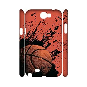 WJHSSB Basketball Customized Hard 3D Case For Samsung Galaxy Note 2 N7100