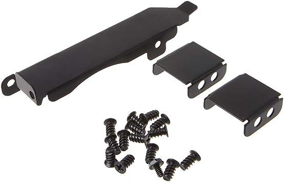 Mcbbigxw Soporte de Cubierta de Ranura PCI de Rack de Ventilador Doble 80-90mm Tarjeta de Video Ventilador de refrigeración Hebilla Metal Negro: Amazon.es: Electrónica