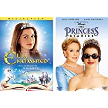Princess Anne Hathaway Collection Disney's The Princess Diaries (Full Screen) & Ella Enchanted 2-Movie Bundle