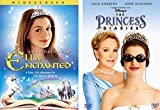 Princess Anne Hathaway Collection Disney's The Princess Diaries (Full Screen) & Ella Enchanted 2-Movie Bundle