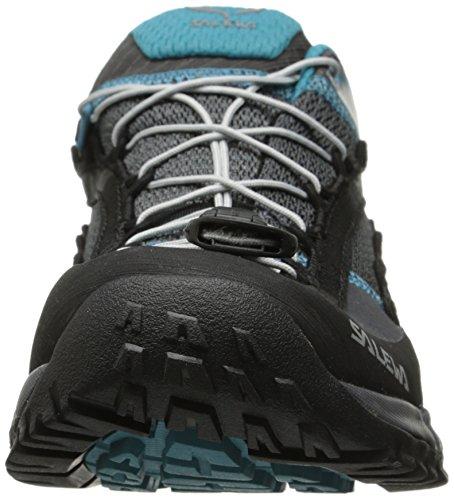 Salewa Womens Ws Speed Ascent Hiking Shoe Carbon / Pagoda