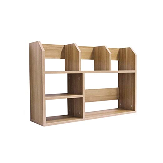 KXBYMX Estantes para Libros Estante de Mesa Simple, pequeño ...