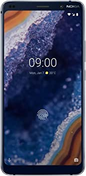 Nokia 9 PureView 128GB Unlocked GSM Phone + 12GB Prepaid SIM Kit