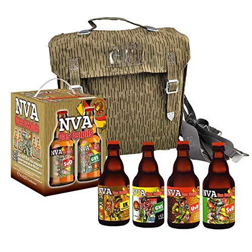 NVA Bier im Bierwürfel Geschenkkarton Teil 1 Ostpaket inkl. Original NVA Tasche
