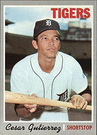 1970 Topps #269 Cesar Gutierrez Baseball Card * at Amazon's Sports ...