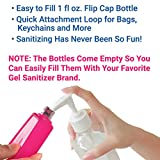 SUSHAFEN 10Pcs Hand Sanitizer Bottle Holder with