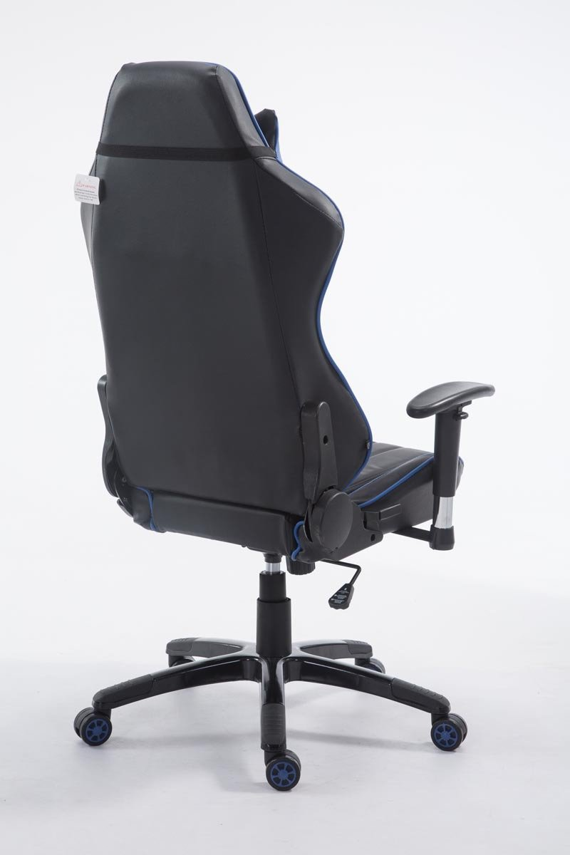 avec Repose-Pieds Noir//Blanc CLP Fauteuil De Bureau Shift XL en Similicuir I Chaise De Bureau Gaming avec//sans Repose-Pied I Hauteur R/églable I Couleur