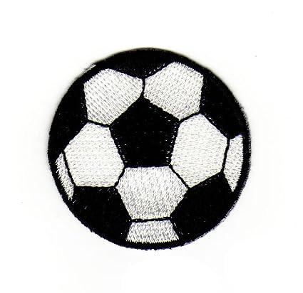 Parche termoadhesivo, diseño de balón de fútbol: Amazon.es: Coche ...