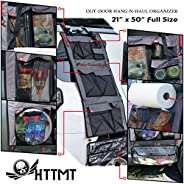 HTTMT - HANG-N-HAUL Storage Bag Organizer For Camping Home Office Picnic Waterproof Hanging Cargo One-Piece Ba