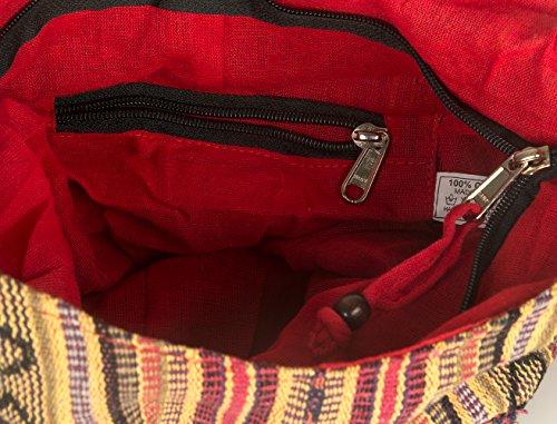 Tribe Azure Red Hobo Messenger Shoulder Bag Large Roomy School Sling Travel Camping Beach Cross body Photo #5