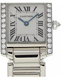 Tank Francaise quartz womens Watch 2403 (Certified Pre-owned)