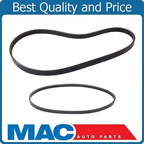 Mac Auto Parts 143658 Serpentine Fan Belt Alternator AC Power Steering Belts Camry Celica 4Cyl -