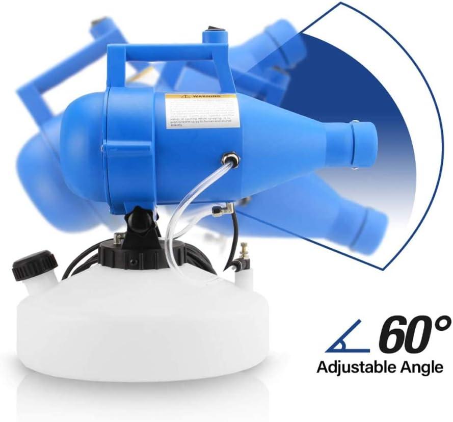 LYY Pulverizador Eléctrico Portátil De 4.5L, Nebulizador Frío ULV ...