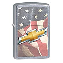Chevy Chevrolet Style5 Zippo Outdoor Indoor Windproof Lighter Free Custom Personalized Engraved Message Permanent Lifetime Engraving on Backside