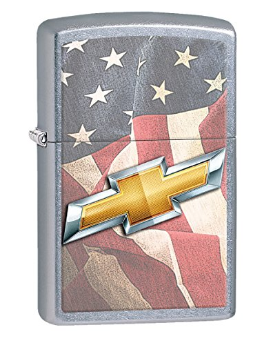 Personalized Message Engraved Customized Chevy Style3 Zippo Indoor Outdoor Windproof Lighter (Style5)