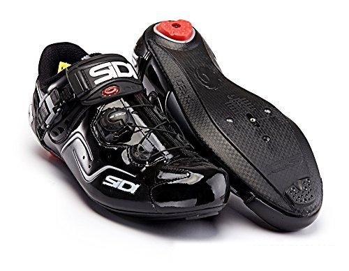 SIDI(シディ) KAOS(カオス) Road Cycling Shoes - Black/Black [Size: 38~46 EUR] [並行輸入品]