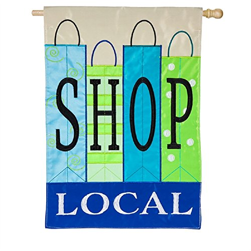 (Shop Local House Applique)