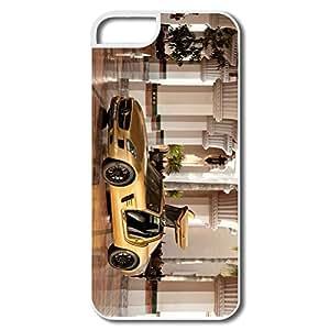 IPhone 5 5s Case Shell 2010 Mercedes Benz Sls Amg Desert Gold 4 - Custom Love IPhone 5 5s Case For Her