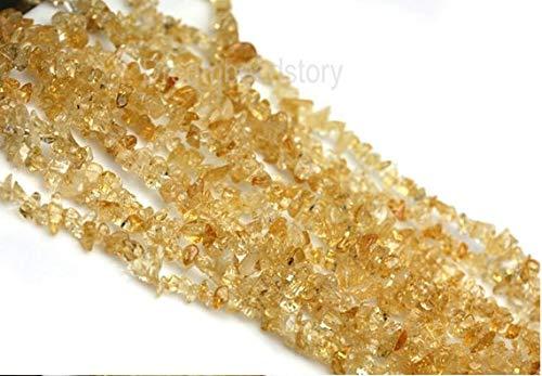 Perles en Vrac Freedom Chips Jaipur Gems Mart Lumi/ère Naturelle Citrine Perles Lisse Accident/é Pierres pr/écieuses Chips 34 Long Chips 4-5mm l/ég/ère Citrine puces AAA en Vrac Chips