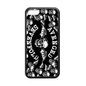 Tt-shop Custom Phone Case Cover Avenged Sevenfold 01 For Iphone 5C (Laser Technology) G432