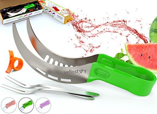 Vellostar Watermelon Kitchen Grade Stainless Ergonomic product image