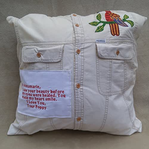 Amazon.com: Memory pillow made from shirts, This is a ...