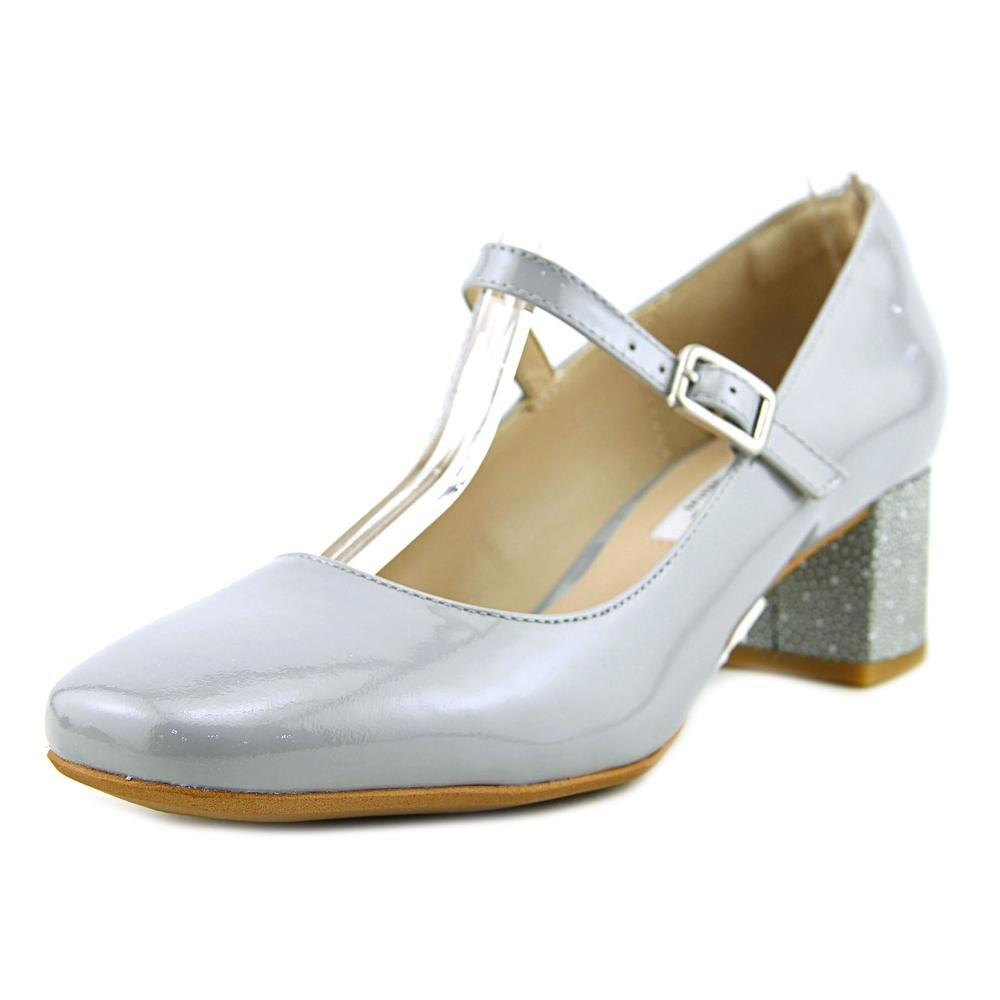 [クラークス] Womens Leather Chinaberry Pop Leather Closed Patent Toe Mary Jane Grey/Blue Pumps [並行輸入品] B01H6BIFWU 8 B US Womens|Grey/Blue Patent Grey/Blue Patent 8 B US Womens, 【本物保証】:92bc4ccf --- krianta.com